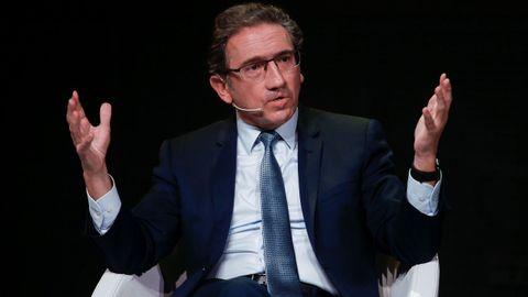 Jaume Giró,  consejero de Economía de la Generalitat