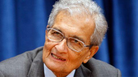 El economista indio Amartya Sen
