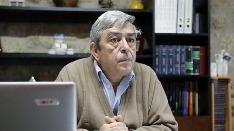Carlos Gómez, alcalde de Xunqueira de Espadanedo