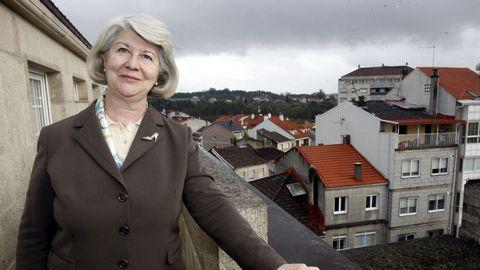 María Teresa Miras Portugal, en O Carballiño