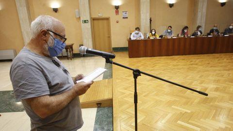 Los vecinos de Vilaxoán y Faxilde intervinieron en el pleno