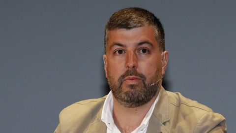 Bernardo Fraga, autor do artigo, nunha imaxe de arquivo, é técnico de Prevención en Riscos Laborais, arquitecto técnico e concelleiro de Por Viveiro