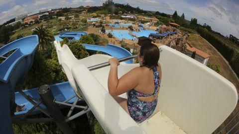 Al contrario que el de Cerceda, que es al aire libre (en la imagen), Jácome propone ahora un aquapark bajo techo