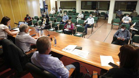 Acruga celebró este viernes una asamblea en el Pazo de Feiras de Lugo