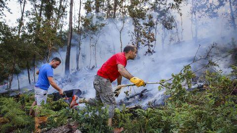 El último incendio en Tállara calcinó unas 60 hectáreas el verano pasado