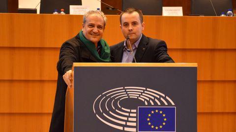 Alfonso Gómez y Xose Abelenda, en una foto de archivo del 2019
