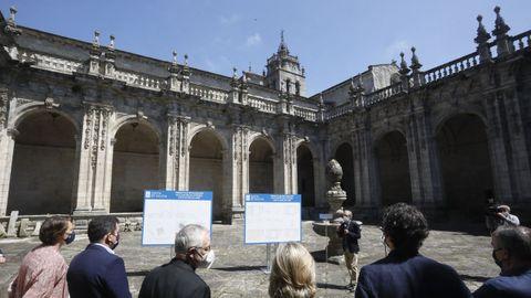 El claustro de la catedral de Lugo