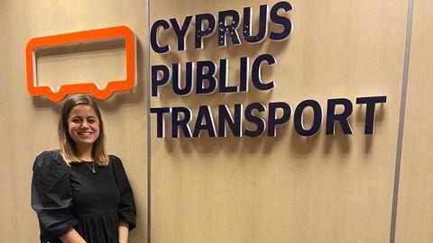 Laura Blanco, en Chipre
