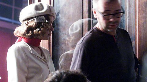 María Adánez na rodaxe de «O lapis do carpinteiro»