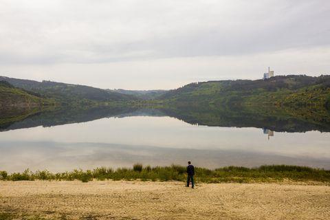 Apertura ó público do Lago de As Encrobas, en Cerceda. 14/05/2021