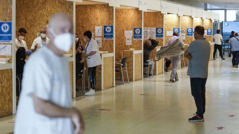 En Expourense hay jornada de vacunación masiva con Janssen