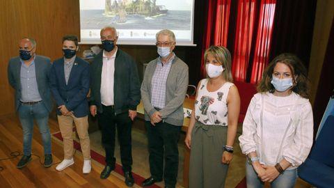 La presentación de la web se llevó a cabo en Valga