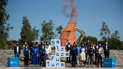 A mostra «Galicia futura» foi presentada onte no Gaiás