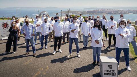 Participantes en el Saborea sin prisa
