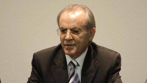 El alcalde de  Vilamarín, Amador Vázquez