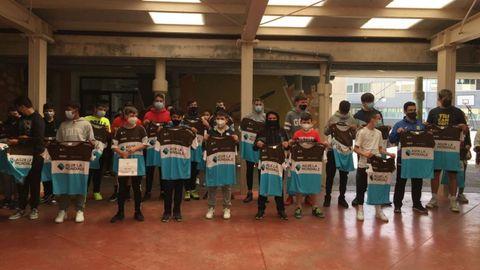 Alumnos del colegio recogieron premios por el Día Internacional de la Bicicleta