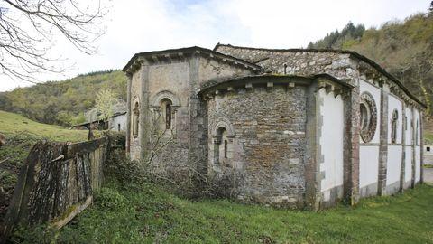 Exterior de la iglesia de Penamaior