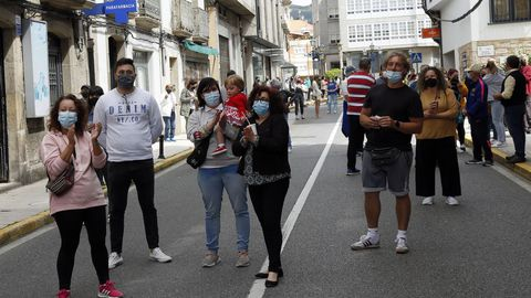 Protesta de los hosteleros por el cierre del municipio