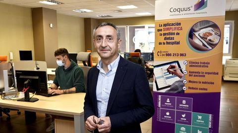 José Luis Dafonte, director general de Novo Sistemas de Información