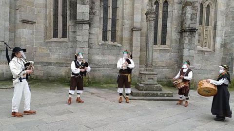 Os Xílgaros amenizarán la festividad de Corpus con danzas y marchas procesionales.