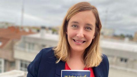 Luisa López es la autora de «Mi bebé estrella»