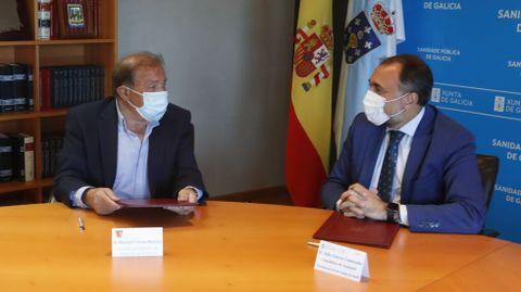 Manuel Corzo y Julio García Comesaña