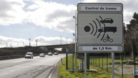 El conductor condenado se salió de la carretera en el peligroso tramo de la N-550 que está vigilado con un radar fijo de tramo