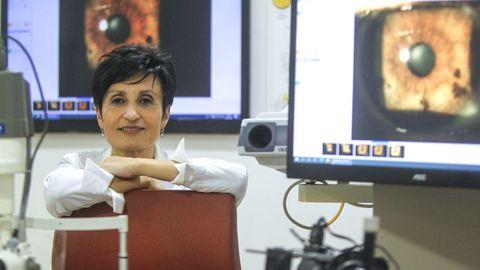 La oftalmóloga Ana González