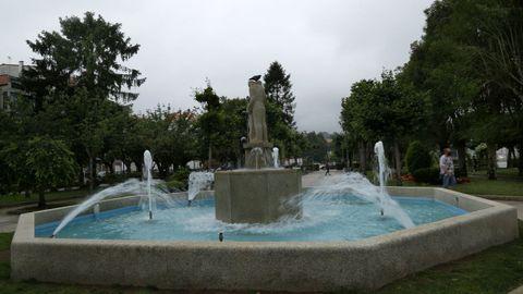 Fuente de los jardines Valle-Inclán