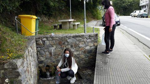 Fuente Carrofeito en Boiro