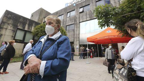 Vacunaciones en el Hospital Virxe da Xunqueira de Cee