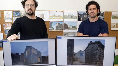 Óscar Fuertes e Iago Penedo, arquitectos