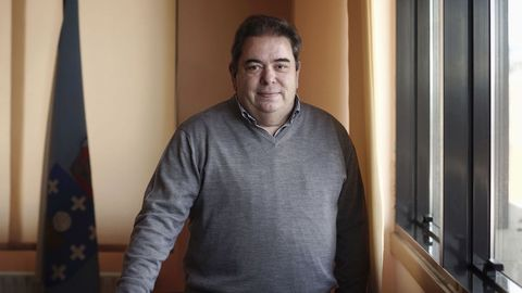 El alcalde de Verín, Gerardo Seoane