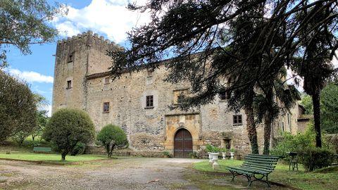 El palacio de Doriga