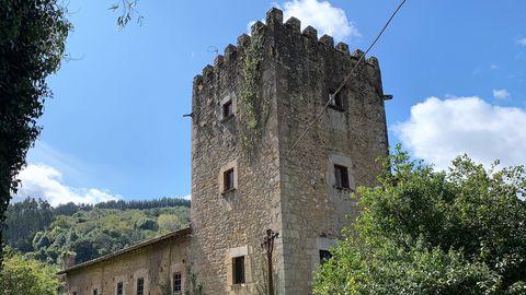 Torre del palacio de Doriga