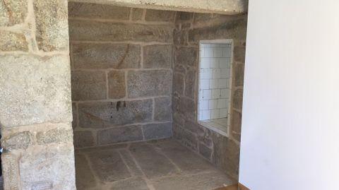 Interior del pazo