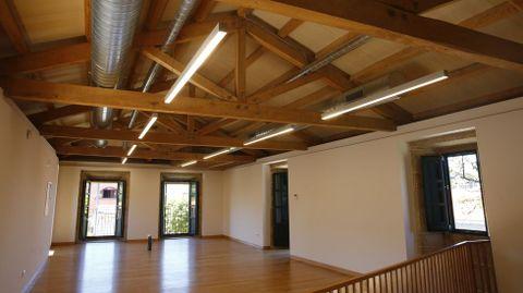 Interior del primer piso del pazo