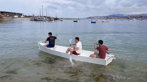 Imagen de la prueba en el portiño de Morás