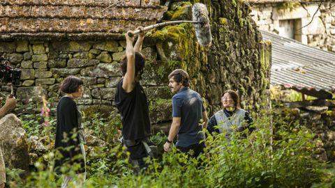 Detalle da rodaxe do filme de Zarauza «Malencolía».