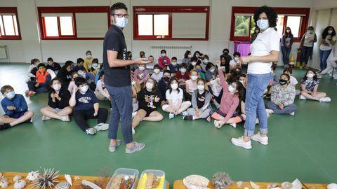 Actos polo Día Mundial dos Océanos no colexio de Celeiro