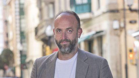 David Alonso, portavoz de Por Gijón