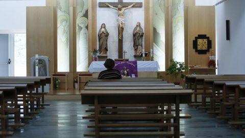 Imagen de archivo de la capilla del hospital de Lugo