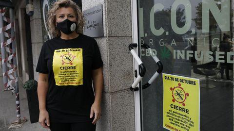 La peluquera de Viveiro Ángeles Salgueiro participará en la manifestación de Madrid el domingo 13