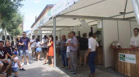 Foto de archivo de la Feira do Viño de Valdeorras en el 2019