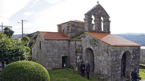 Santa Comba de Bande, uno de los atractivos  del municipio