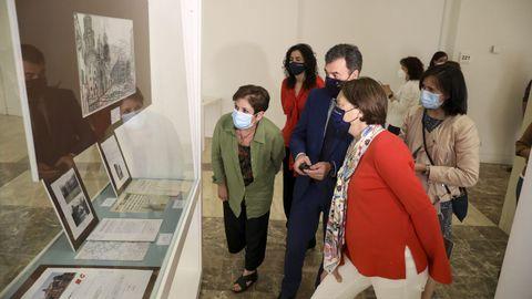 «Camiños, paisaxe e patrimonio» exponse no Arquivo de Galicia.