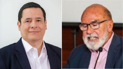 Gabriel López Serrano, director de Asuntos Regulatorios de Microsoft España (izquierda), y José Miguel Zaldo, doctor en Inteligencia Artificial por Deusto