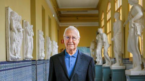El historiador, crítico de arte y exdirector del museo Reina Sofía Tomás Llorens, académico de Bellas Artes de San Fernando, fue también conservador jefe del Thyssen.