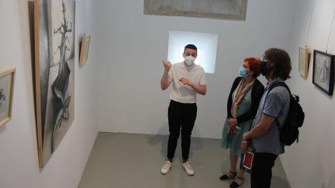 Inauguración de la exposición en O Vello Cárcere