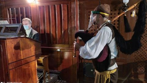 La gaita y el órgano sonarán en directo en la Catedral.